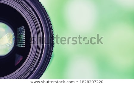 dslr lens close up Stock photo © kyolshin