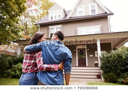 Neighborhood Homes Stock photo © cteconsulting