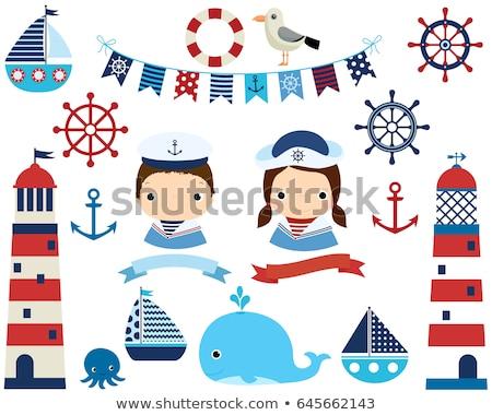 Sailboat Banner Set Stock photo © cteconsulting