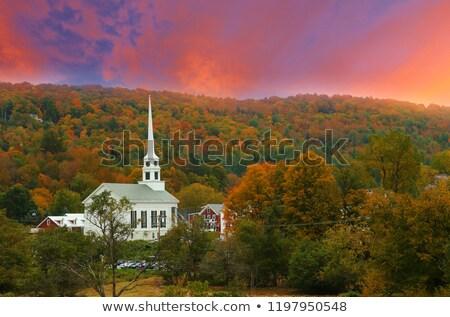 新しい · イングランド · ゴージャス · 秋 · シーン - ストックフォト © donland