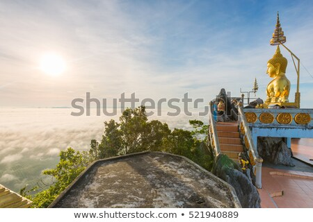 Statue of Buddha in Wat Tiger Cave Stock photo © luckyraccoon