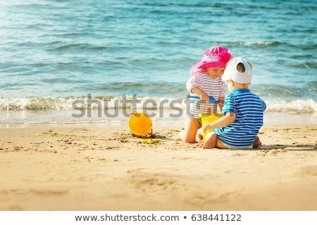 água · do · mar · areia · da · praia · sujo · mar - foto stock © juniart