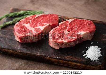 Rib Eye Steak stock photo © rohitseth