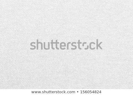 Cotton fabric texture Stock photo © homydesign