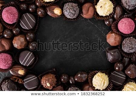 смешанный конфеты красочный желтый селективный мягкой Сток-фото © aladin66