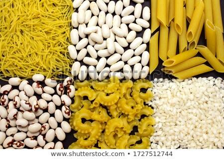 пасты боб смесь продовольствие овощей растительное Сток-фото © phbcz