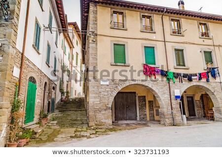Strada piccolo italiana città stretta tipico Foto d'archivio © rglinsky77