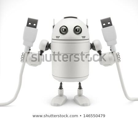 USB droid Stock photo © Kirill_M