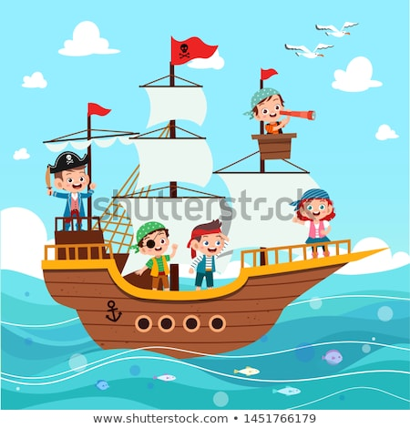 Pirate boat Stock photo © IMaster