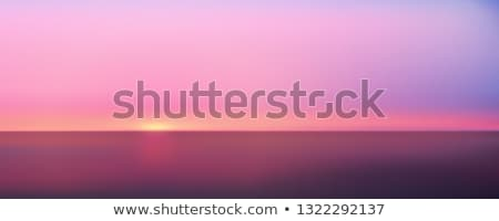 grunge · zee · schilderij · golven · blauwe · hemel · stijl - stockfoto © ryhor