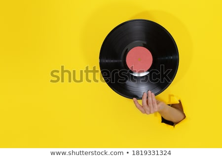 Retro DJ Stock photo © derocz