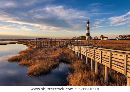 lighthouse in the outer banks Stock photo © meinzahn