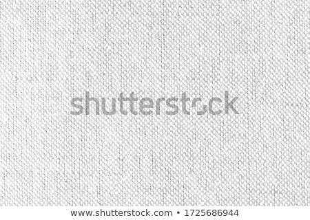 Dark  gray natural linen fabric texture for the background. Stock photo © stevanovicigor