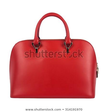 Сток-фото: Leather Hand Bags
