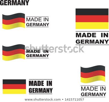 map on flag button of federal republic of germany stock photo © istanbul2009