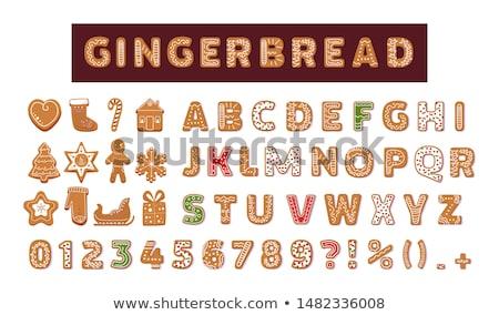 bread alphabet  Stock photo © jonnysek