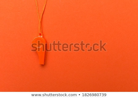 Referee With Orange Basketball Stock photo © AndreyPopov