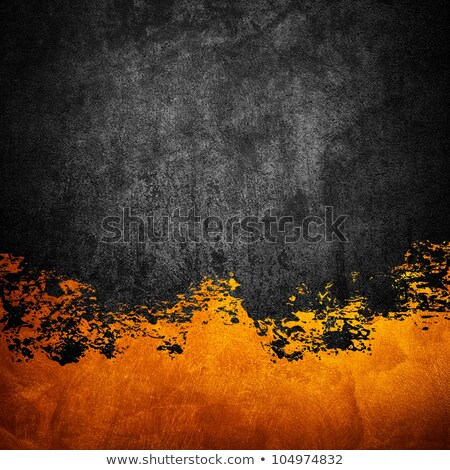 Stock photo: orange background with the orange, sun, drops.
