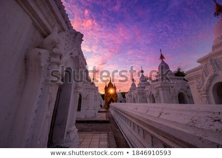 Burmese stone Buddhist book Stock photo © smithore