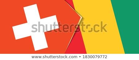 республика · Гвинея · флаг · высушите · земле · землю - Сток-фото © istanbul2009