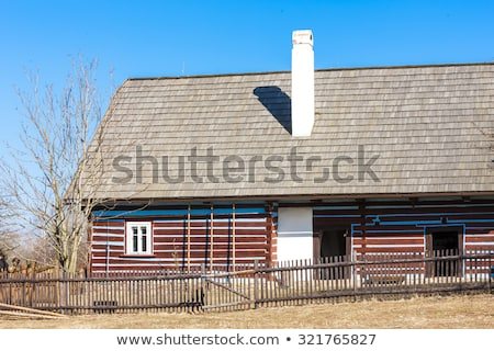 folk museum in Kourim, Czech Republic Stock photo © phbcz