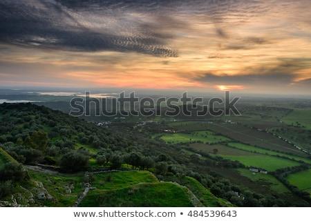 教会 ポルトガル 空 風景 青 ヨーロッパ ストックフォト © compuinfoto