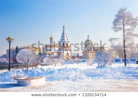 パンケーキ · 氷 · 写真 · ロシア · 水 · 背景 - ストックフォト © petrmalyshev