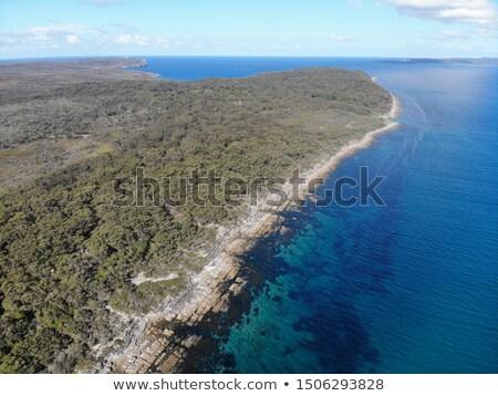 bowen island jervis bay australia stock photo © lovleah