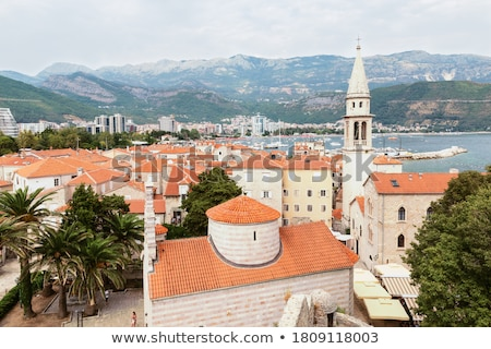 Budva medieval fortress street Stock photo © Steffus