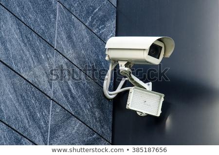 segurança · câmera · escritório · construçao · branco · televisao - foto stock © bubutu