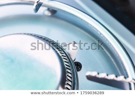 Elektrik çakmak makro alev dizayn duman Stok fotoğraf © Hofmeester