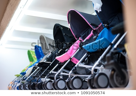 Baby strollers Stock photo © bluering