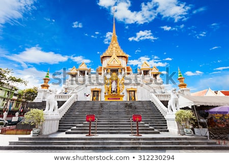 Wat Traimit - temple of Gold Buddha in Bangkok Stock photo © Mikko