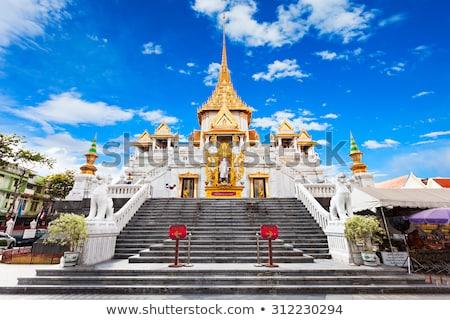 寺 金 仏 バンコク タイ 空 ストックフォト © Mikko
