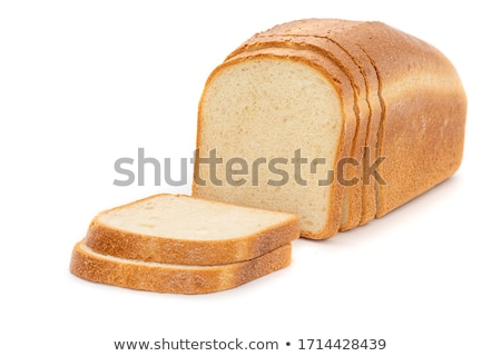 Isolated white bread Stock photo © 5xinc