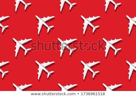 Légitársaság terv 10 absztrakt madár posta Stock fotó © sdCrea