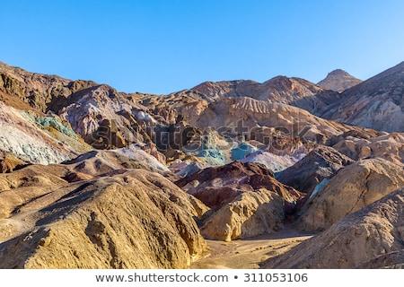 Sanatçı sürmek ölüm vadi paletine park Stok fotoğraf © meinzahn