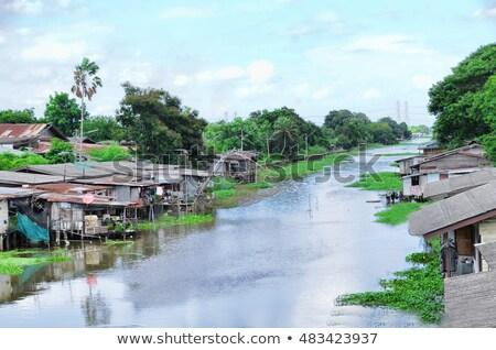 W. tajska typowy Tajlandia rzeki Zdjęcia stock © joyr