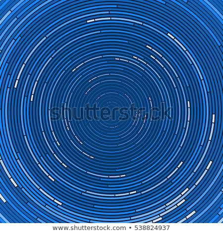 Parlak mavi soyut ortak merkezli model sabun Stok fotoğraf © ptichka