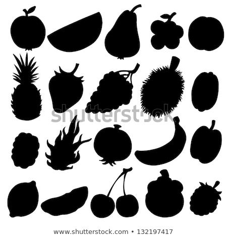muz · dizayn · uzun · gölge · gıda · meyve - stok fotoğraf © ratkom