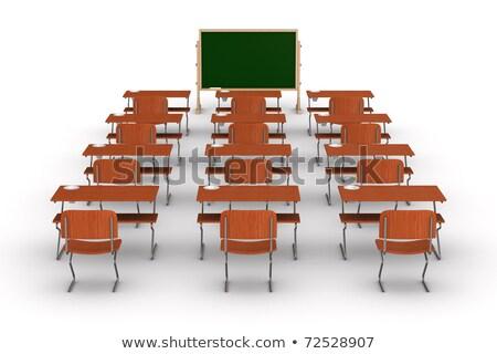 interior · escolas · classe · 3D · imagem · paisagem - foto stock © iserg
