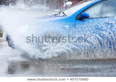 wheels moving on road Stock photo © ssuaphoto