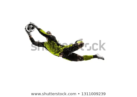 Goalkeeper Saves Ball Stock photo © IS2