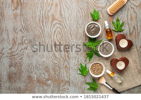 Essential oil made from medicinal cannabis  Stock photo © wollertz