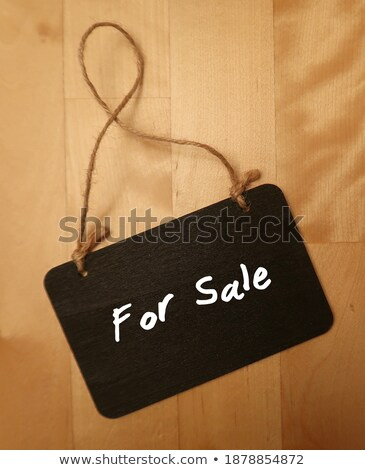 profit   text on small chalkboard stock photo © tashatuvango