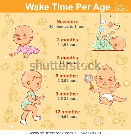 Horário atividades bebê ninguém infância Foto stock © IS2