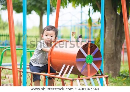 Jongen ongeval illustratie medische kind kunst Stockfoto © bluering
