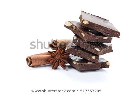Stok fotoğraf: Siyah · çikolata · baharatlar · karışıklık · çikolata