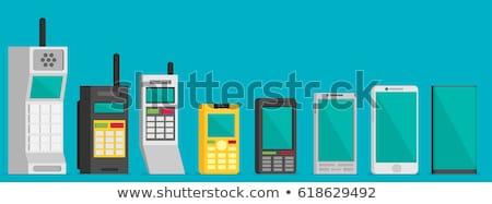mobiele · ontwikkelaars · telefoon · groot · mensen · lezing - stockfoto © robuart