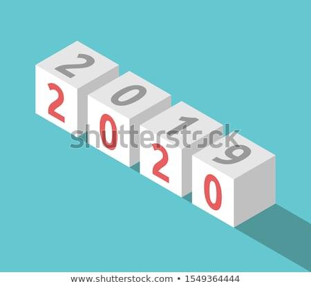 Branco número tabela ilustração 3d Foto stock © Oakozhan